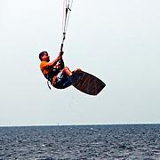 Kitesurfing on Soundside