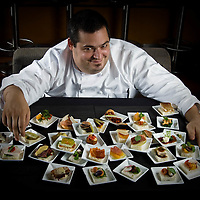Chef Eric Greenspan owner of The Foundry on Melrose a fine dining restaurant with Jazz nightly.