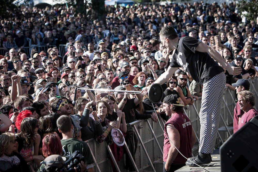 Naked Raygun at Riot Fest 2014