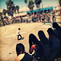 Venice Skate Park in Venice Beach