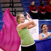Louisiana Colorguard and Percussion Circuit, West Monroe Show 2012.photo by: Crystal LoGiudice