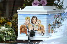 APR 21 2014 Peaches Geldof Funeral