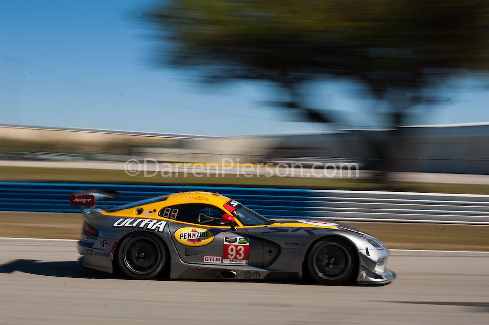 #93 SRT Motorsports SRT Viper GTS-R: Robert Bell, Jonathan Bomarito, Kuno Wittmer