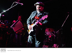 Darren Watson and the Real Deal blues band open for Eli Paperboy Reed at Bodega in Wellington, New Zealand.