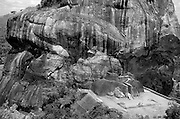 An aerial view of the Lions Paw on Sigiriya.