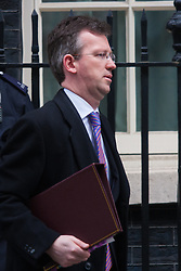 London, March 10th 2015. Ministers arrive at the weekly cabinet meeting at 10 Downing Street. PICTURED: Jeremy Wright QC, Attorney General