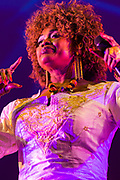 Oumou Sangare from Africa performing at Womadelaide 2017 Music Festival held between 10 - 13 March 2017 in Adelaide, South Australia