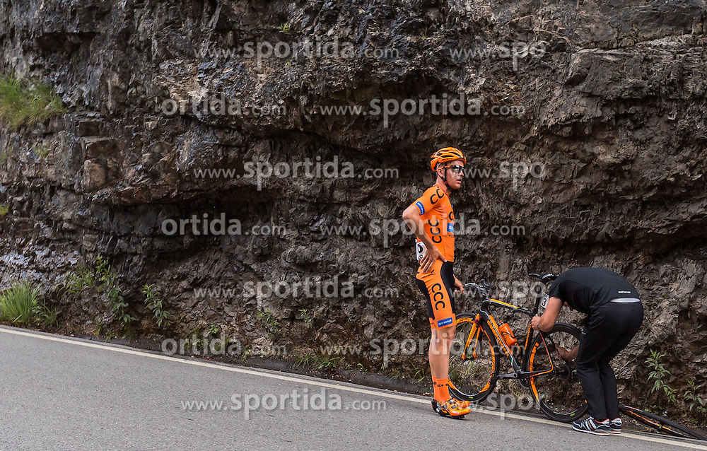 03.07.2016, XXX, AUT, Ö-Tour, Österreich Radrundfahrt, 1. Etappe, Innsbruck nach Salzburg, im Bild Patryk Stosz (POL, CCC Sprandi Polkowice) // Patryk Stosz (POL, CCC Sprandi Polkowice) during the Tour of Austria, 1st Stage from Innsbruck to Salzburg at XXX, Austria on 2016/07/03. EXPA Pictures © 2016, PhotoCredit: EXPA/ JFK