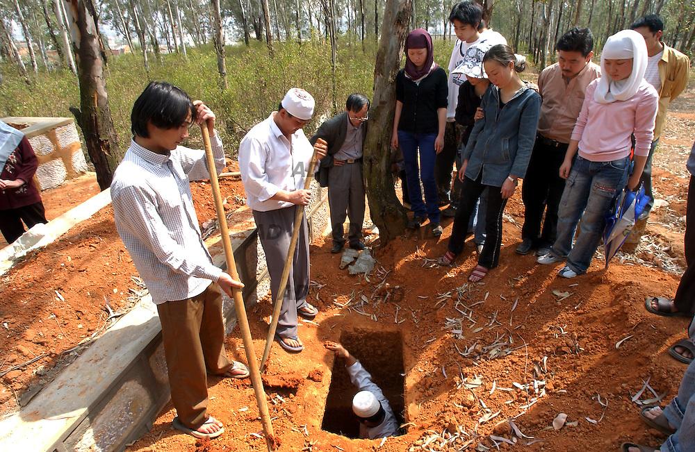 A muslim funeral.