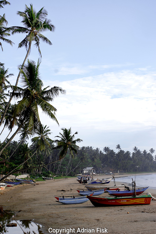 The beautiful south Sri Lankan coast is back to it former glory having been ripped apart by the Tsunami two years previously