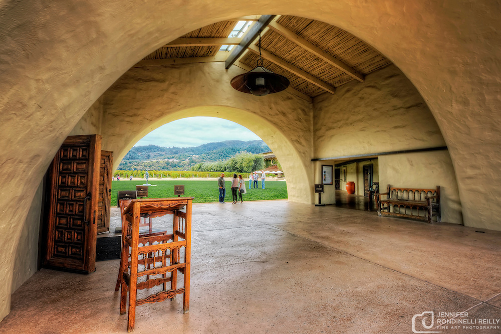 Photo taken while visting Robert Mondavi Winery in Napa, CA.