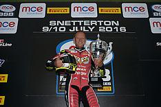 R5 MCE British Superbike Championship Snetterton 300 - 2016