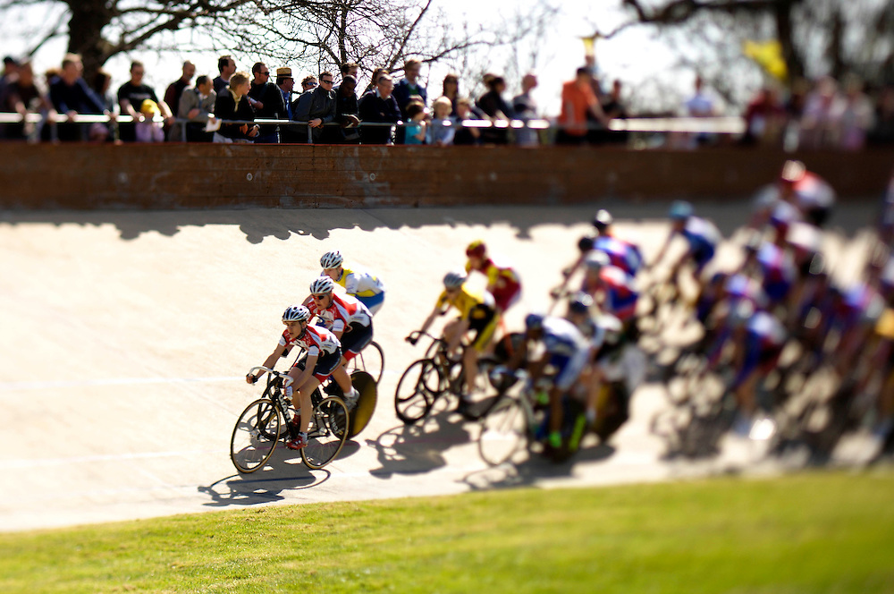 Herne Hill's famous velodrome in south London hosts an annual International track meet on Good Friday.