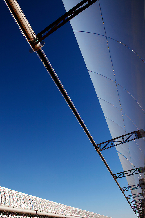Corporate photography on solar power plant in Spain