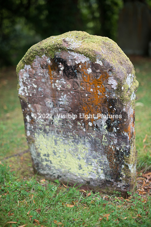 Old headstone in the Luss graveyard