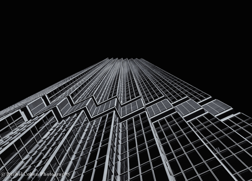 &quot;IDS Tower Minneapolis&quot; 4 mono<br /> <br /> A pure black and white image of the beautiful IDS Tower in Minneapolis!<br /> <br /> Cities and Skyscrapers by Rachel Cohen