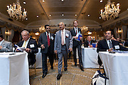 Institutional Investor's India Investment Forum. Photographed by Jeffrey Holmes Photography, Corporate Photographer New York. Government ministers from India meet present their case for investment to the top money manager.
