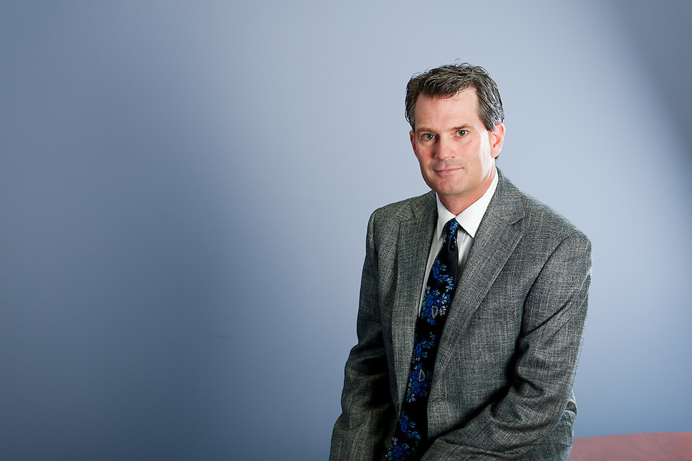 Sterling Rempel editorial portrait for Advisors Edge Magazine.