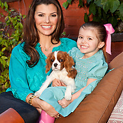 Ali Landry, daughter Estella, and Toulouse