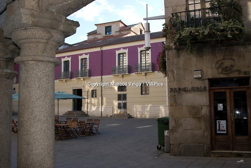 Pontevedra town, Galicia, Spain.