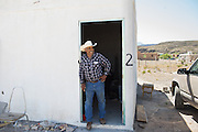 Esteban Oñate is an official tour guide for Boquillas del Carmen and leads tours into the old mining areas of the Sierra del Carmen mountains just outside of the village.