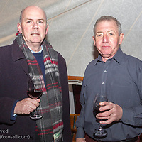 (l to r) Derek Gill and Denis Nolan attending the official launch of Volvo Dún Laoghaire Regatta 2017 in the National Maritime Museum of Ireland on Wednesday evening. The Regatta will be among the biggest mass-participatory sporting event in Ireland this year (eclipsed for numbers only by the city marathons).