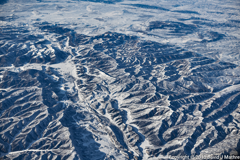 America from the sky. Transcontinental flight from San Francisco to New Jersey. Image taken with a Nikon D3x camera and 50 mm f/1.4 lens <br /> <br /> Colorado