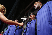 "The Blind Boys of Alabama at "" Lincoln After Dark "" sponsored by Lincoln Motors and hosted by Idris Elba and Steve Harvey and music by Biz Markie during the 2009 Essence Music Festival and held at The Contemporary Arts Center in New Orleans on July 4, 2009"