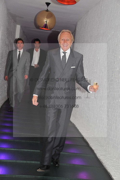 HAROLD TILLMAN at a party to celebrate the Kelly Hoppen and Smallbone kitchen range held at The Collection, 264 Brompton Road, London on 24th September 2012.