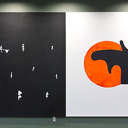 Traveling Norwegian Art Show