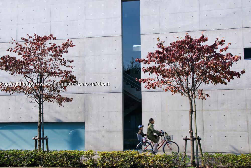 Tokyo Art Museum in Sengawa Tokyo designed by Tadao Ando