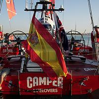 13.01.2012, Abu Dhabi. Volvo Ocean Race, abu dhabi in port race, camper emirate new zealand boat, 3d place winner