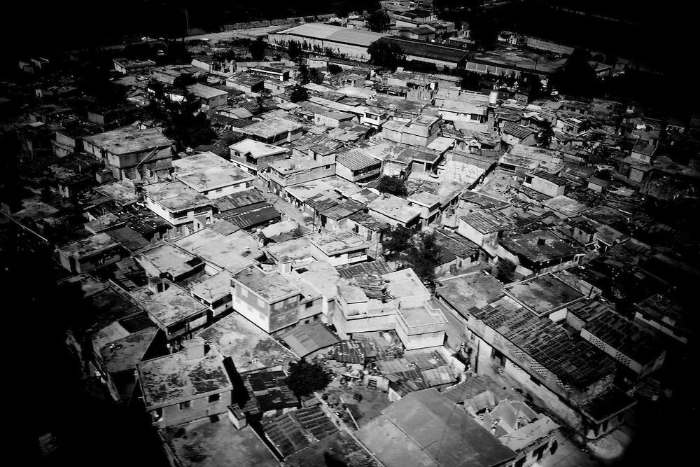 An aerial view of Port-au-Prince, Haiti.