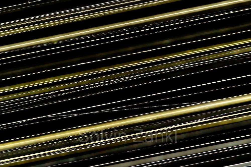 Spinnenseide der Goldenen Radnetzspinne (Nephila clavipes) ist fünfmal so reißfest wie Stahl und etwa dreimal so fest wie die derzeit stabilsten synthetischen Fasern.