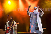 Tinariwen and Noureddine Khourchid and the whirling dervishes