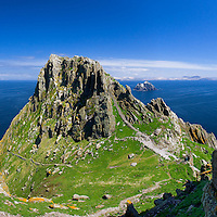 Christ's Saddle on Skellig Michael, Co. Kerry, Ireland<br />