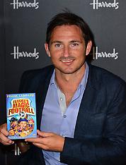 JUNE 22 2013 Frank Lampard Book signing