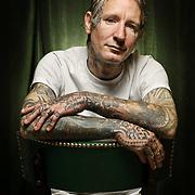 Freddy Corbin, tattoo artist. Oakland, CA • Inked Magazine