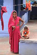 Local woman in City of Karauli,Rajasthan,India