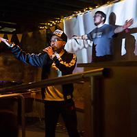 Treefort Music Festival, Boise State alumni Dedicated Servers performing at Space Bar Arcade. Allison Corona photo.