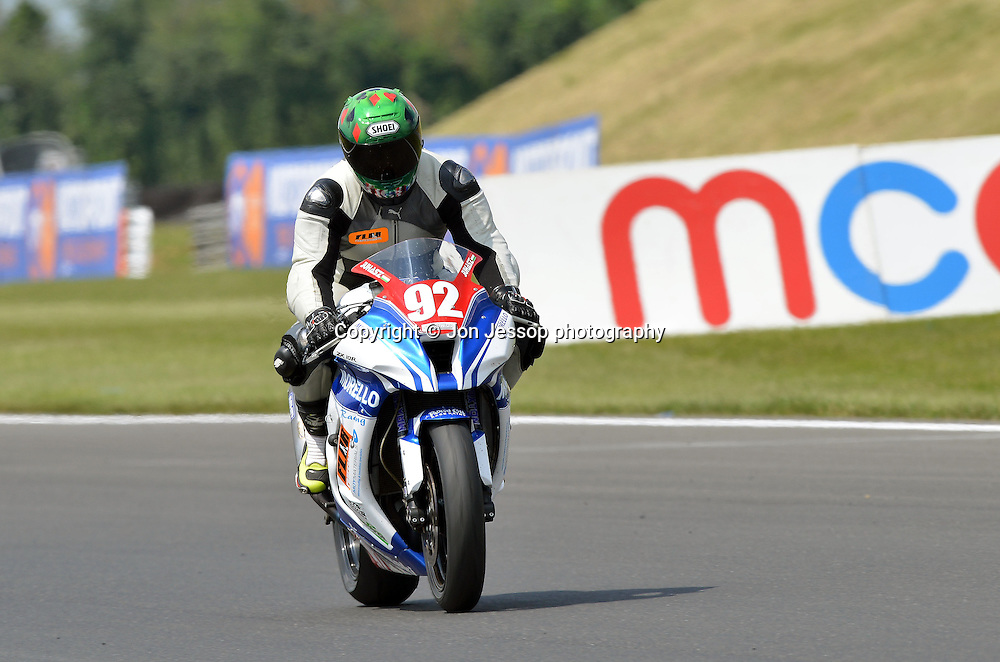 #92 David Juhasz Morello Racing Kawasaki Superstock 1000