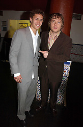 Photo of Martin Freeman & his friend  Rafi Gavron