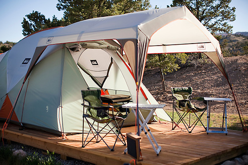Itu0027s a Basec& 6 tent and an REI Alcove. It makes a wonderful home away from home complete with patio. & Tent camping hacks what are some sweet tricks you learned? - Page ...