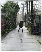 Rainy Day in LA
