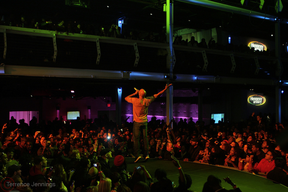 Common at The Hennessey Artistry Concert Series held at Terminal 5 on  October 7, 2009 in New York City
