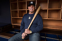 Ronald Mark Blomberg, nicknamed Boomer, is a former Major League Baseball designated hitter, first baseman, and right fielder. He played for the New York Yankees (1969, 1971-76) and Chicago White Sox (1978). He was the first designated hitter in Major League Baseball history.<br /> <br /> (Photo by Robert Caplin)