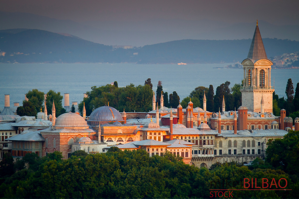 Topkapi Palace.<br /> Istanbul, Turkey.
