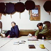 Bingo night in Newtok, Alaska. 2008