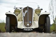14/04/16 - LE BUGUE - DORDOGNE - FRANCE - Essais cabriolet FIAT Balilla de 1935 - Photo Jerome CHABANNE