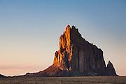 Shiprock. Four Corners region of New Mexico.